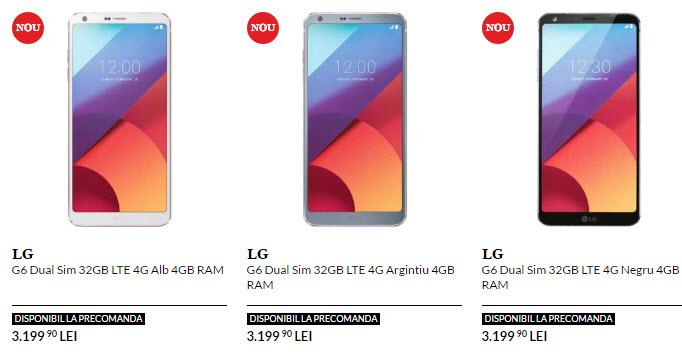 В Европе смартфон LG G6 будет продаваться по цене около €700