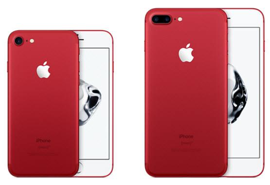 Apple представила красный iPhone 7 и новые версии iPhone SE с 32 и 128 ГБ флэш-памяти