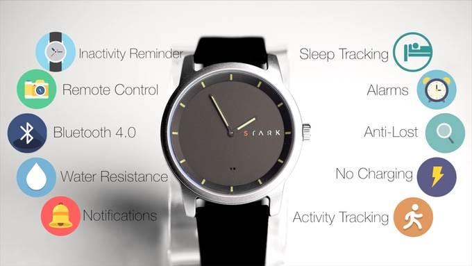 Гибридные умные часы Stark, ненуждающиеся вподзарядке, оценены в $40