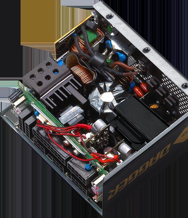 Блоки питания FSP Dagger имеют сертификат 80Plus Gold