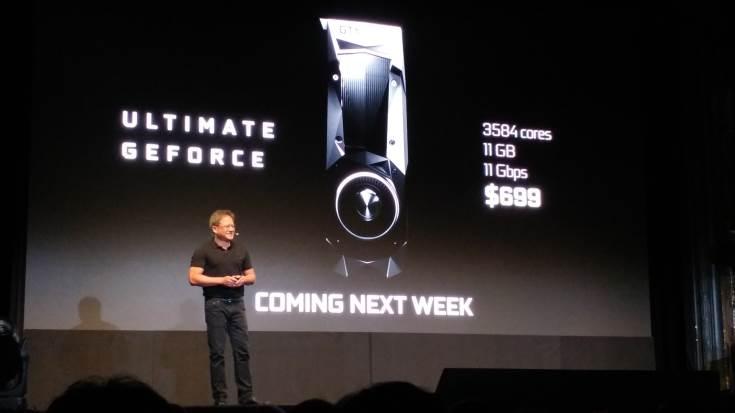 3D-карта Nvidia GeForce GTX 1080 Ti предназначена для игровых ПК