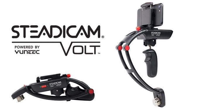 Используя Steadicam Volt, можно существенно повысить качество видеосъемки смартфоном в движении