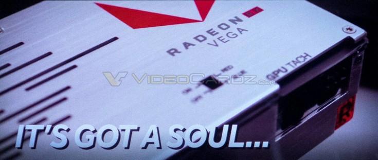 Появились более качественные снимки видеокарты AMD с GPU Vega