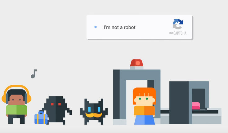 Google создаёт невидимый вариант системы reCAPTCHA