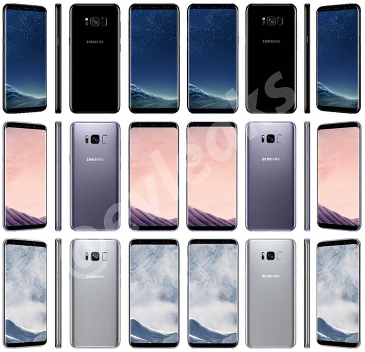 Названа дата, когда в Европе начнется прием заказов на смартфоны Samsung Galaxy S8