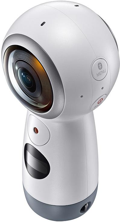 Представлена обновленная панорамная камера Samsung Gear 360