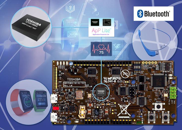 Основой набора служит плата с «концентратором датчиков» TZ1041MBG