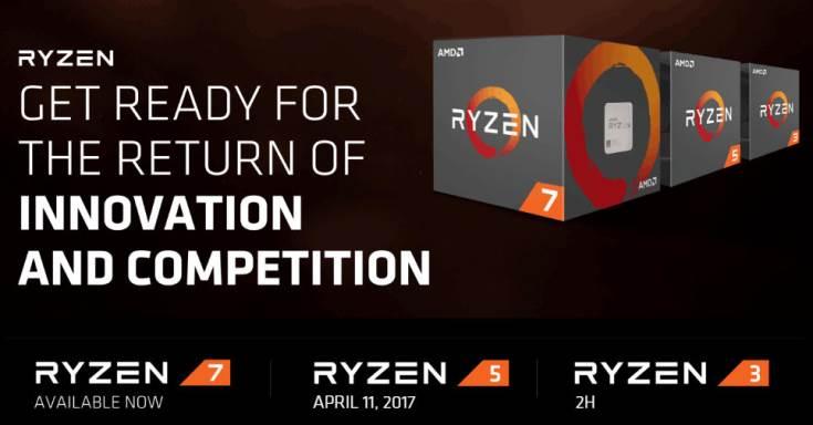 Анонс AMD Ryzen 5 намечен на 11 марта