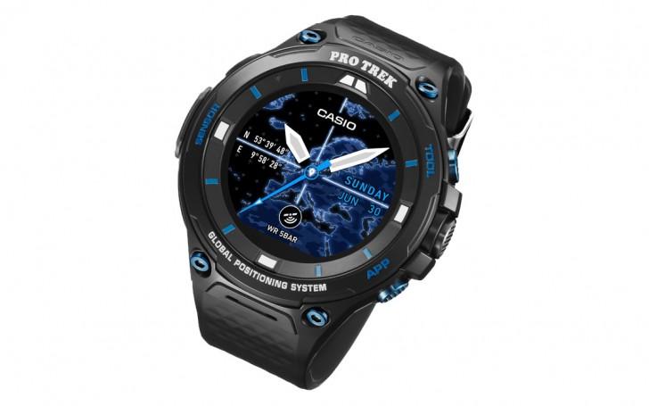 Защищенные умные часы Casio Pro Trek WSD-F20S оценены в $500