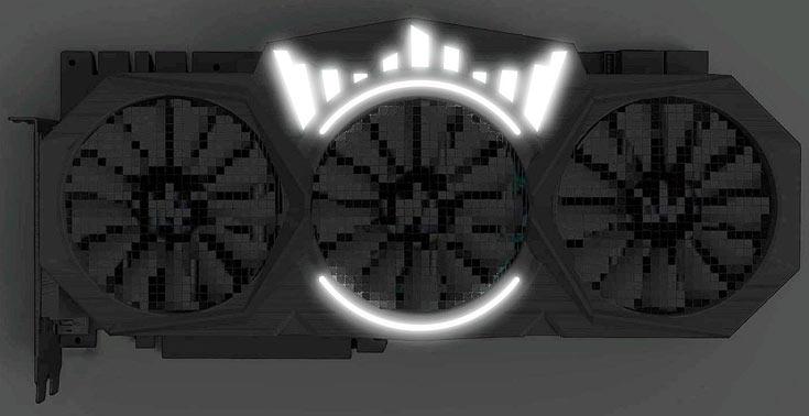 Информации о частотах, дате начала продаж и цене 3D-карты Galax GeForce GTX 1080 Ti HOF пока нет