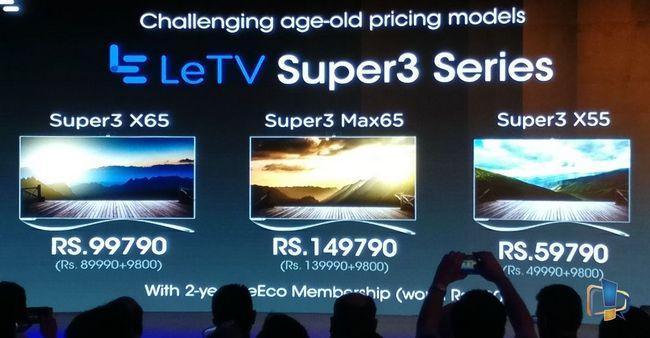 LeEco не уходит из Индии, но смещает акцент со смартфонов, на умные телевизоры