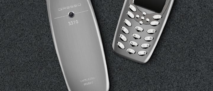 Gresso Presso 3310 — люксовая версия возрождённого телефона Nokia 3310, которая похожа на оригинал даже больше, чем новая модель