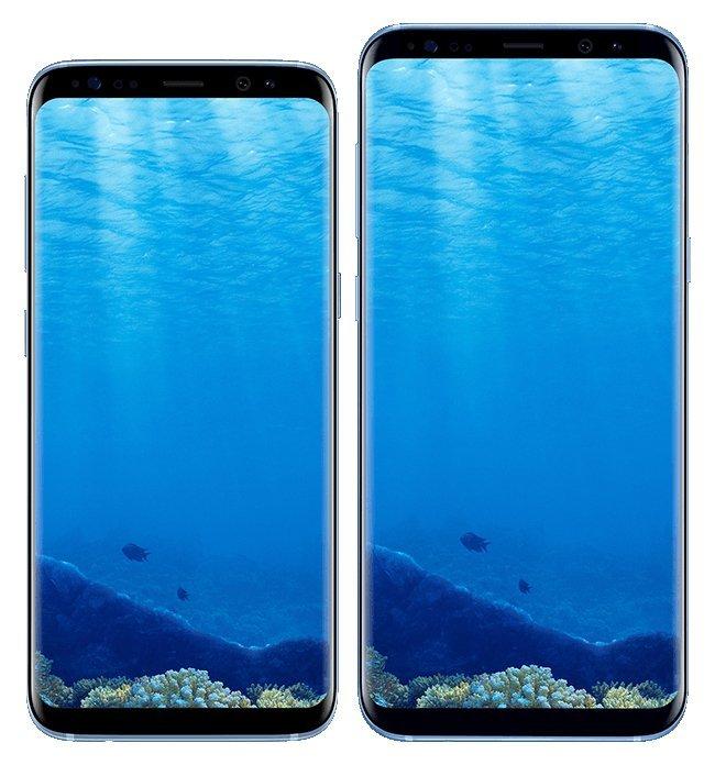 Появились изображения еще одного цветового варианта смартфонов Samsung Galaxy S8 и Galaxy S8 Plus