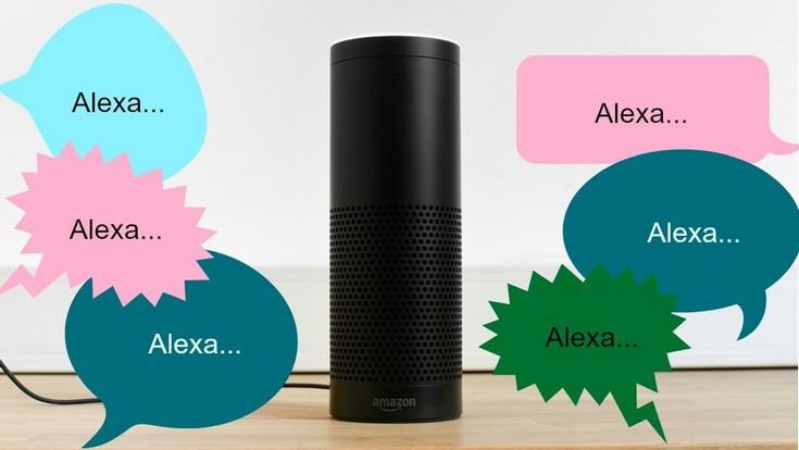 Alexa научиться распознавать голоса