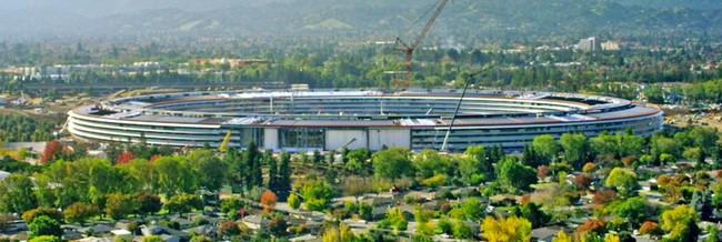 Новый видеоролик демонстрирует текущее состояние штаб-квартиры Apple Park