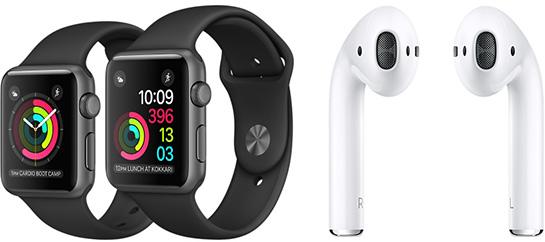 Аналитик удивлен низкой ценой AirPods и Apple Watch