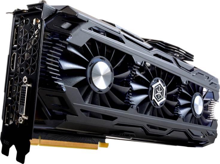 Цены 3D-карты Inno3D GeForce GTX 1080 Ti iChill X3 и X4 пока неизвестны