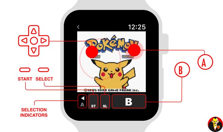 Энтузиаст разработал для умных часов Apple Watch Series 2 эмулятор игр Game Boy