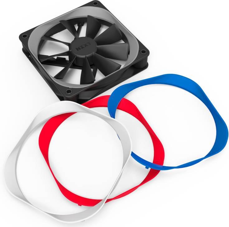 К достоинствам вентиляторов Aer F производитель относит поддержку управления скоростью вращения с помощью ШИМ
