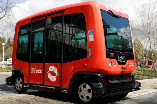 В Сан-Франциско тестируют беспилотные автобусы