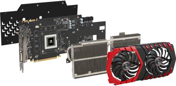 3D-карта MSI GeForce GTX 1080 Ti Gaming X