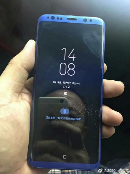 Появились фотографии различных цветовых вариантов Samsung Galaxy S8