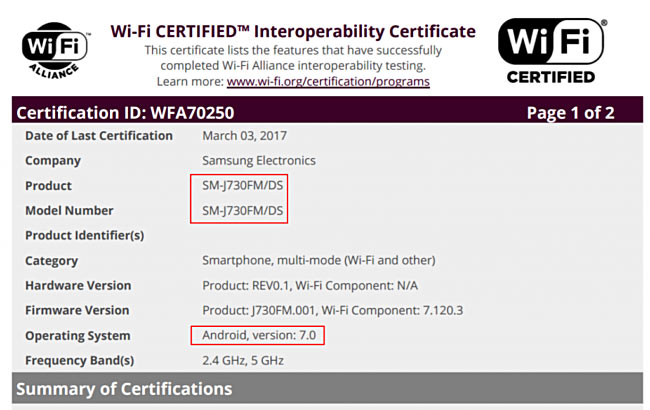 Смартфон Samsung Galaxy J7 (2017) оснащен дисплеем Super AMOLED размером 5,5 дюйма