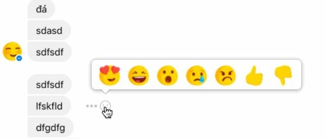 В Facebook Messenger появятся «Реакции», включая кнопку «Не нравится»