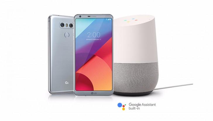 Первые американские покупатели смартфона LG G6 получат в подарок умную колонку Google Home
