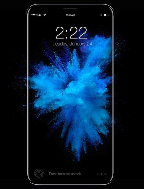 Из-за нового дактилоскопического датчика производство iPhone 8 может начаться только в сентябре