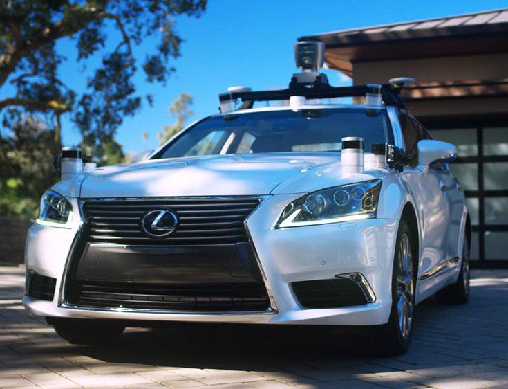 Основой тестового образца послужила модель Lexus LS600hL
