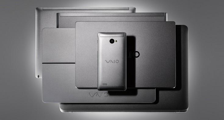 VAIO Phone A — металлический смартфон с SoC Snapdragon 617