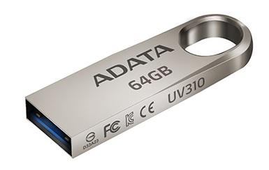 Флэшка Adata UV310 получила интерфейс USB 3.1