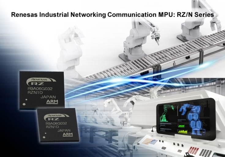 В конфигурацию RZ/N входит процессор ARM, блок R-IN Engine и пятипортовый коммутатор Gigabit Ethernet