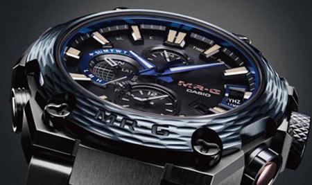 На выставке Baselworld 2017 представлен особый вариант часов Casio G-Shock MR-G (MRGG2000HT-1A)