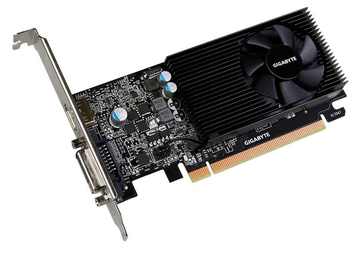 Gigabyte ограничилась двумя низкопрофильными вариантами GeForce GT 1030