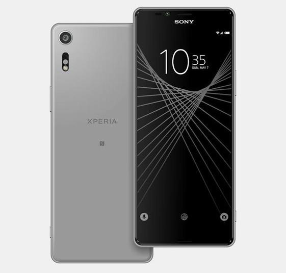 Изображения телефона Сони Xperia XUltra демонстрируют аппарат сультраширокоформатным экраном
