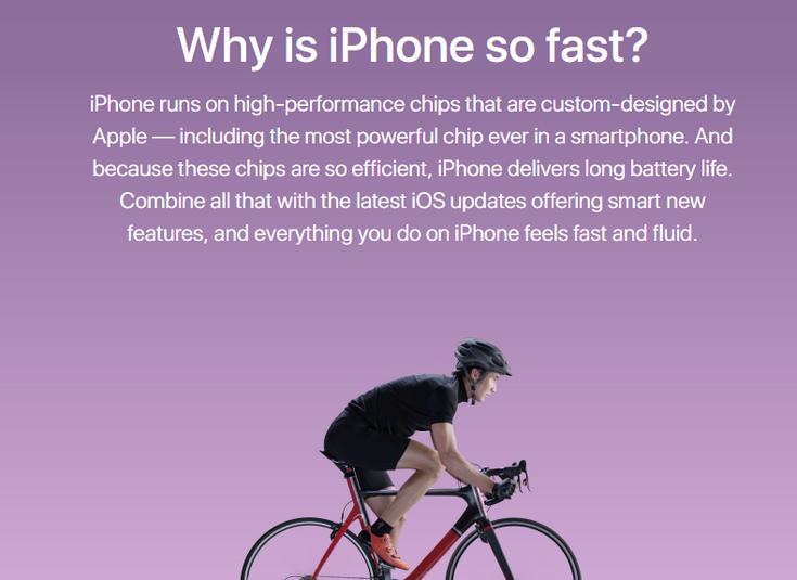 Apple создала на своём сайте отдельную страницу, где расхваливает преимущества iOS и лёгкость перехода на неё с других смартфонов