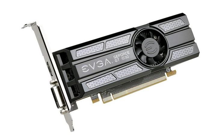 EVGA сильнее прочих разогнала графический процессор видеокарты GeForce GT 1030
