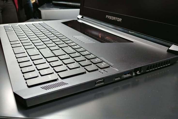 Ноутбук Acer Predator Triton 700 предлагает видеокарту GeForce GTX 1080 в корпусе толщиной менее 19 мм