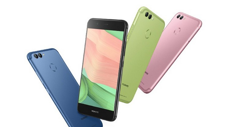Huawei представила смартфоны Nova 2 и Nova 2 Plus