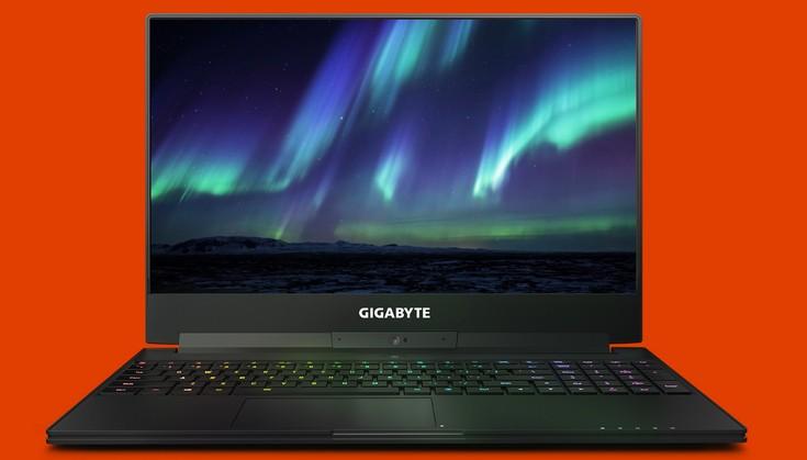 Gigabyte анонсировала игровой ноутбук сбезрамочным экраном
