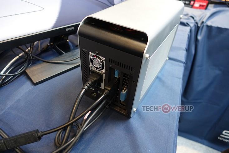 Sapphire показала док-станцию с интерфейсом Thunderbolt 3 для подключения видеокарт