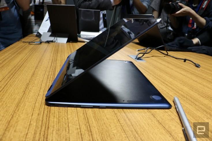 Asus ZenBook Flip S — конвертируемый ноутбук толщиной менее 11 мм