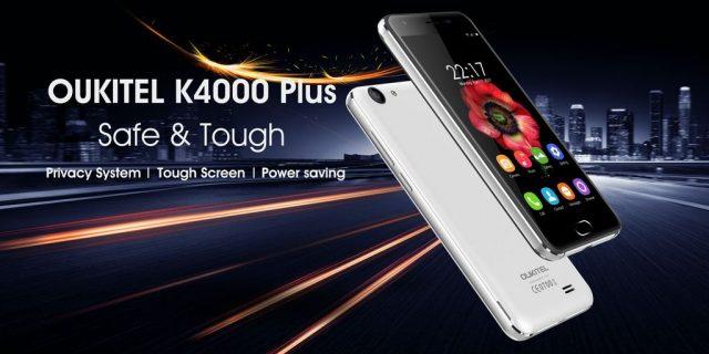 Смартфон Oukitel K4000 Plus получил приватный режим