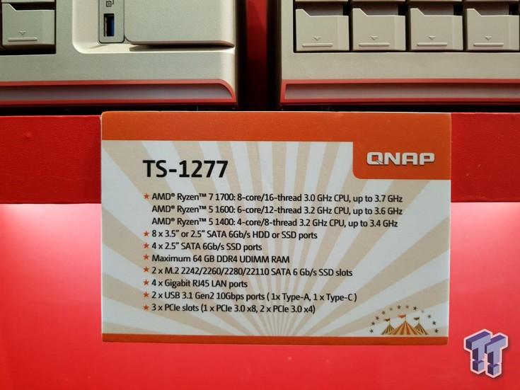Qnap использовала CPU Ryzen для создания NAS