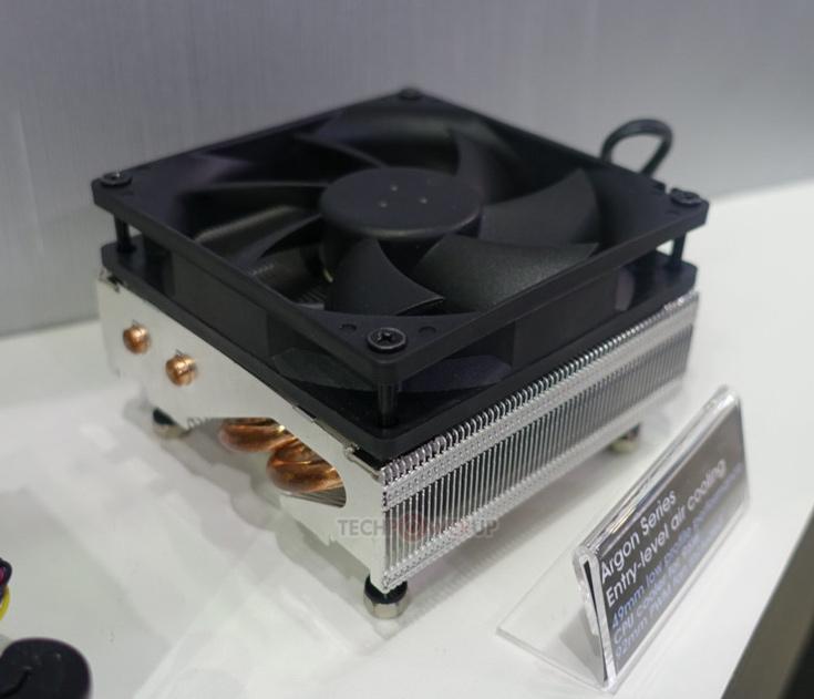 Высота процессорного охладителя SilverStone Argon — всего 49 мм