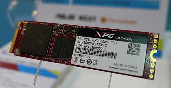 Adata продемонстрировала на Computex 2017 SSD XPG SX9000 типоразмера M.2