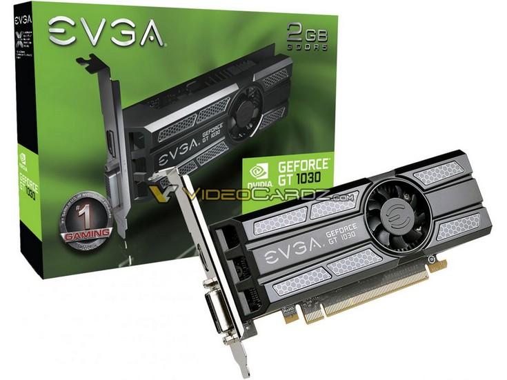 Китайский портал раскрыл спецификации идату выхода Nvidia GeForceGT 1030