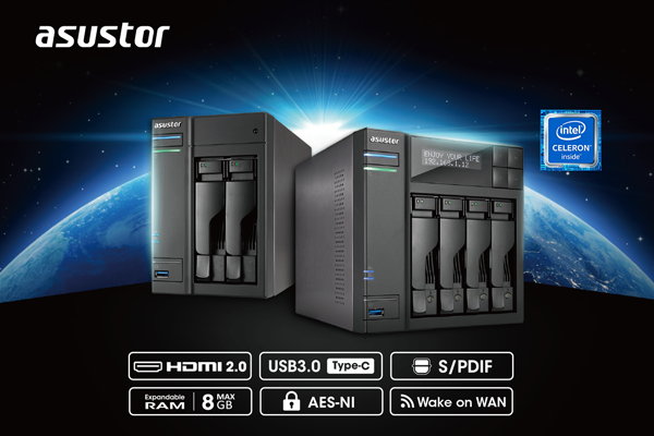 Представлены сетевые накопители Asustor AS6302T и AS6404T